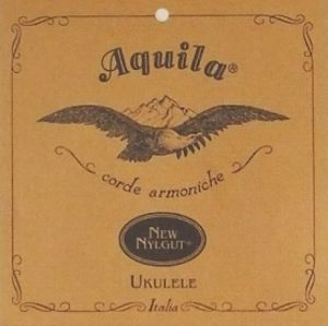 AQUILA New Nylgut Ukulele Set, GCEA Tenor, low-G, wound