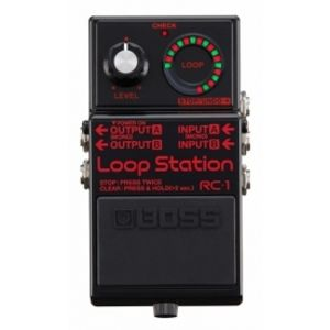 BOSS RC-1 Loop Station Black