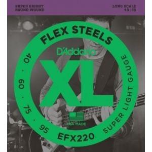 D'ADDARIO EFX220 Bass Super Light - .040 - .095