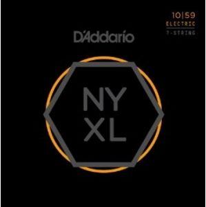 D'ADDARIO NYXL 7-String Regular Light 10-59