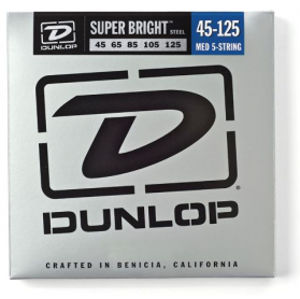 DUNLOP DBSBS45125 Stainless Steel Bass Medium