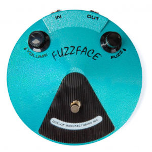 DUNLOP Jimi Hendrix Fuzz Face Distortion JHF1