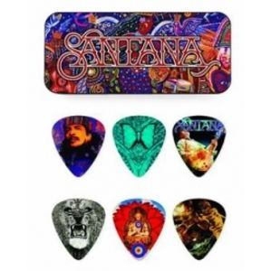 DUNLOP SANPT01M Santana Pick Tin Medium