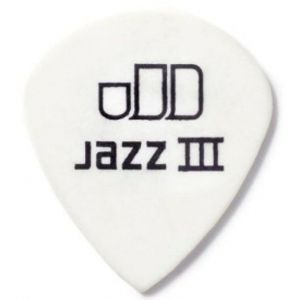 DUNLOP Tortex Jazz III White 1.14 12ks
