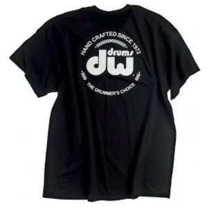 DW DRUMS T-Shirt DW Logo size XL