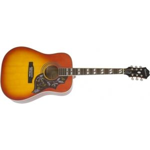EPIPHONE Hummingbird PRO, Rosewood Fingerboard - Faded Cherry Burst