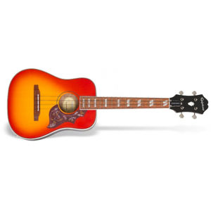 EPIPHONE Hummingbird Ukulele Faded Cherry Burst