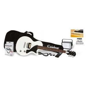 EPIPHONE PRO-1 Les Paul Jr. Performance Pack Alpine White