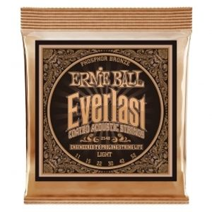 ERNIE BALL 2548 Everlast Coated Phosphor Bronze Light - .011 - .052
