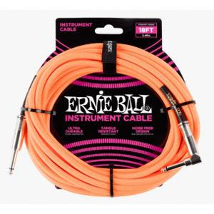 ERNIE BALL P06084 Braided Cable 18 SA Neon Orange