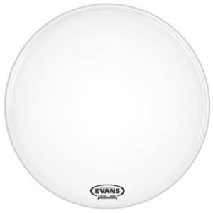 EVANS BD26RGCW-NP EQ3-NP Coated White Bass Reso No Port 26""