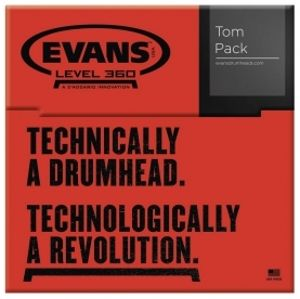 EVANS G2 Coated Tom Pack - Standard