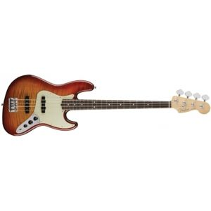 FENDER 2017 Limited Edition American Professional Jazz Bass FMT Aged Cherry Burst