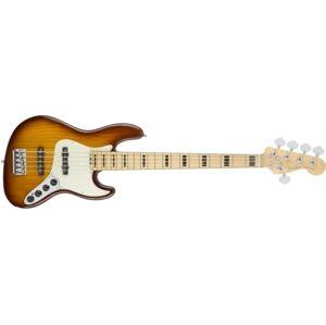 FENDER American Elite Jazz Bass V Ash Tobacco Sunburst Maple