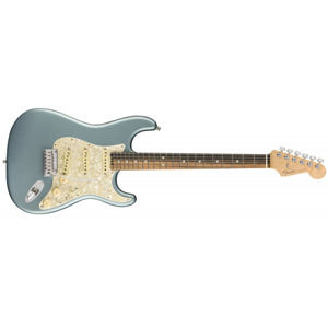 FENDER American Elite Stratocaster Satin Ice Blue Metallic Ebony