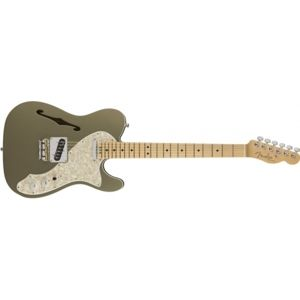 FENDER American Elite Telecaster Thinline Champagne Maple