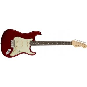 FENDER American Original 60s Stratocaster Candy Apple Red Rosewood