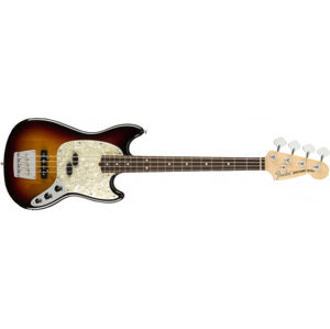 FENDER American Performer Mustang Bass 3-Color Sunburst Rosewood