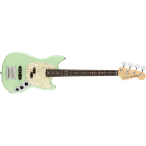 FENDER American Performer Mustang Bass Satin Surf Green Rosewood
