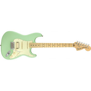 FENDER American Performer Stratocaster HSS Satin Surf Green Maple
