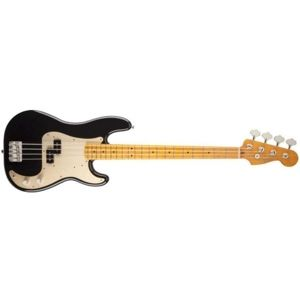 FENDER Classic '50s Precision Bass Lacquer, Maple Fingerboard - Black
