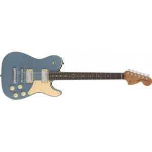 FENDER Limited Edition Troublemaker Tele Deluxe Ice Blue Metallic Rosewood
