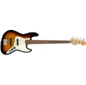 FENDER Player Jazz Bass FL 3-Color Sunburst Pau Ferro