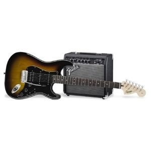 FENDER SQUIER Affinity Stratocaster Pack HSS Brown Sunburst