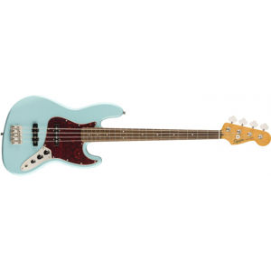 FENDER SQUIER Classic Vibe 60s Jazz Bass Daphne Blue Laurel