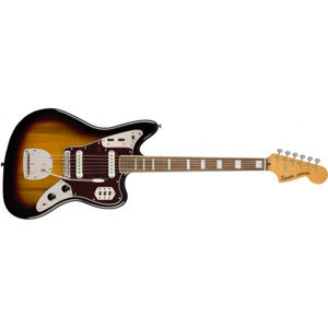 FENDER SQUIER Classic Vibe 70s Jaguar 3-Color Sunburst Laurel