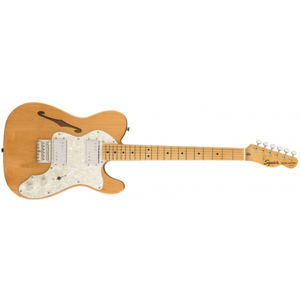 FENDER SQUIER Classic Vibe 70s Telecaster Thinline Natural Maple
