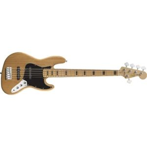 FENDER SQUIER Squier Vintage Modified Jazz Bass V Natural Maple