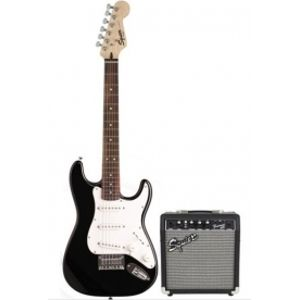 FENDER SQUIER Stratocaster Pack SSS Black