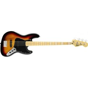 FENDER SQUIER Vintage Modified Jazz Bass 77', Maple Fingerboard - 3 Color Sunburst