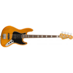 FENDER Vintera 70s Jazz Bass Aged Natural Pau Ferro