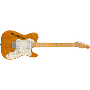 FENDER Vintera 70s Telecaster Thinline Aged Natural Maple