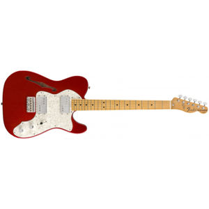 FENDER Vintera 70s Telecaster Thinline Candy Apple Red Maple