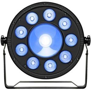 FRACTAL LIGHTS LED PAR 9 x 10W +1 x 20W