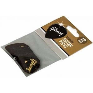GIBSON Tortoise Picks 12 Pack Medium