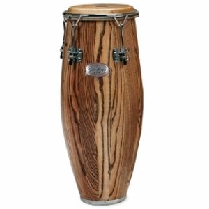 """GON BOPS Alex Acuna Series Lacquer Tumba 12 3/4"""" - Natural"""