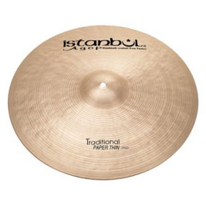 ISTANBUL Agop Traditional Paper Thin Crash 18""