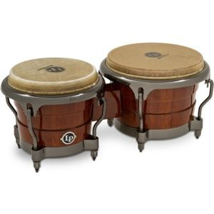 LATIN PERCUSSION LP201AX-D Professional Durian Wood Bongos