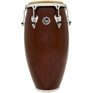 LATIN PERCUSSION M750S-W Matador 11 Wood Quinto Dark Brown Chrome