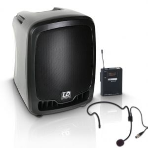 LD SYSTEMS Roadboy 65 - Portable PA Speaker - Headset