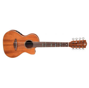 LUNA GUITARS High Tide 8-String AE Ukulele Satin Natural