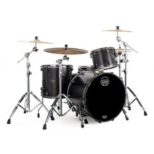 MAPEX Saturn V Exotic SV481XB KFB Flat Black Maple Burl