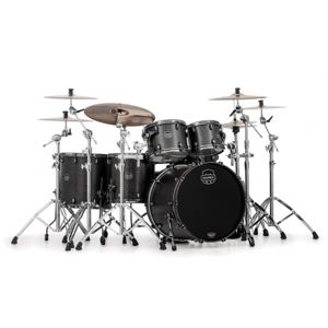 MAPEX Saturn V Exotic SV628XB KFB Flat Black Maple Burl