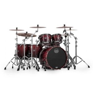 MAPEX Saturn V Exotic SV628XEB KLE Cherry Mist Maple Burl