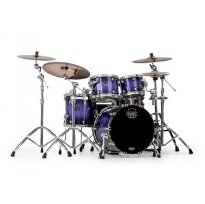 MAPEX Saturn V SV504X PH Red and Blue Hybrid Sparkle