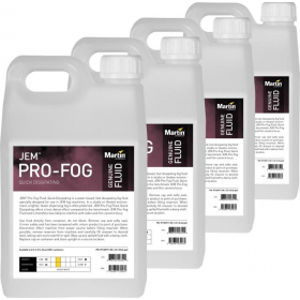 MARTIN LIGHTS JEM Pro-Fog Fluid Quick Dissipating 4x 5 l